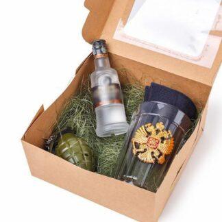 Подарочный набор для мужчины на 23 февраля, зажигалка ввиде гранаты, подарок для мужчины, корпоративные подарки 23 февраля