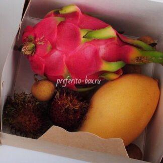 фрукты из тайланда, экзотические фрукты, доставка экзотических фруктов, рамбутан, доставка манго, фруктовый набор, букет из фруктов, доставка подарков москва, подарочные наборы москва, корпоративные подарки москва