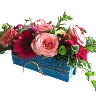 цветы в ящике, доставка цветов по москве, цветы москва, цветы, доставка цветов, цветы на 8 марта, цветочная композиция, оформление праздника цветами, цветы на стол, цветы на юбилей, цветы и шарики, розы, доставка роз, креативный букет, доставка букета, цветы и фрукты, букет на день рождение, день рожденье, preferito, гербера, эксклюзивные букеты