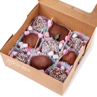 Клубника в шоколаде, Подарочные наборы по москве, Доставка подарков по Москве, Подарок на День Валентина, Подарок на 8 марта,