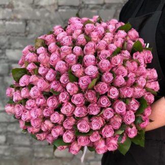 Букет из 101 розы, Цветы MARITIM, Розы доставка по Москве круглосуточно, Preferito, Купить розы в Москве, Цветы на день рождения