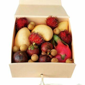 Набор из экзотических фруктов, Фрукты в коробке, фрукты из тайланда
