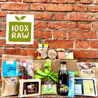Подарочный набор для вегетариаца, что подарить вегану?, купить подарок для вегана, raw, vegan food, raw food, финиковая паста купить, кэроб купить