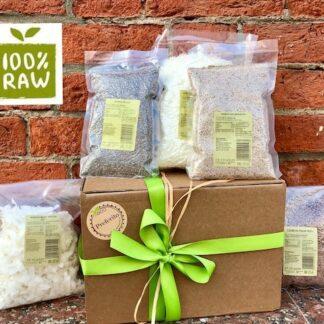 Полезные продукты, семена чиа, каноа, Подарок для вегетарианца, vegan food, raw