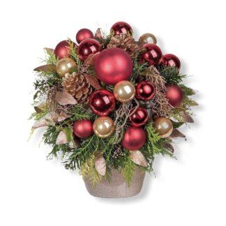 Новогодняя композиция на стол, офрмление офиса на Новый год, новогодний декор купить в Москве, Новогодние подарки купить Москва, Подарки на Новый год, Заказать новогоднюю композицию для интерьера