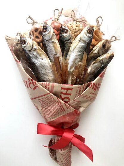 Букет из рыбы купить дешево с доставкой по Москве, рыбный букет, Букет к пиву, Букет к 23 февраля недорого, Подарки для мужчин, букеты для мужчин, Подарок в баню, Букет в баню, Подарки для мужчин, мужской букет с рыбой, букет для мужчины по низкой цене Москва