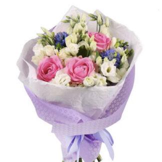 Букет цветов из нежных цветов, купить цветы недорого в Москве, доставка букетов по Москве, Цветы, Букеты к 8 марта, Цветы Москва, Нежный букет для девушки, букет на день рождения