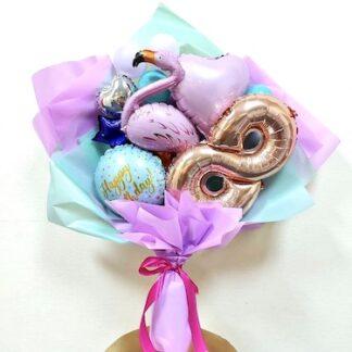 Букет из шаров, оригинальный подарок для подруги, Детский букет для девочки, Подарок для девочки