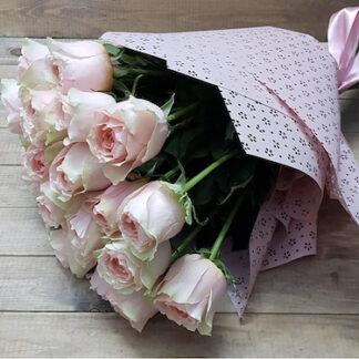Букет из нежных роз заказать, Купить розы с доставкой, Цветы купить в Москве, Букет для девушки заказать, Букет на 8 марта, букет для учителя, букет в школу, Букет для мамы
