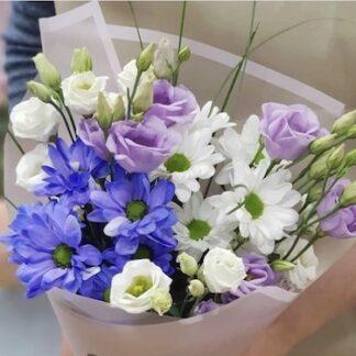 Букет цветов с доставкой по Москве, Недорого купить цветы, цветы, Букет дёшево, Букет для учителя, букет на 1 сентября