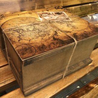 Мужской подарочный ящик с продуктами, подарочный набор для мужчины, Подарочная корзина для мужчины, подарок на 23 февраля, Подарок в ящике, Продуктовый подарочный набор заказать для мужчины, Подарок для директора, Преферито, Preferito, Подарки для мужчин Москва, купить подарок для мужчины, морской ящик, пиратский ящик в подарок, ящик с морской картой