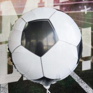 фольгированный шар фигура футбольный мяч, шарики для футболиста, Шары для болельщика, Спортивные воздушные шары