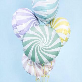 Шарик круги карамель, Шар конфета, шарик карамелька, шарики для девочки купить, Доставка шаров на ень рождения круглосуточно